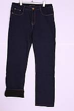 Жіночі джинси на флісі великих розмірів (код 719)