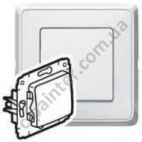 Выключатель (переключателя) 1-кл промежуточный 10А Legrand Cariva белый 773607
