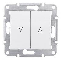 Выключатель с электрической блокировкой Schneider Electric Sedna Белый SDN1300121