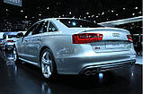 Диффузор S6 заднего бампера Audi A6 (2012-2014), фото 3