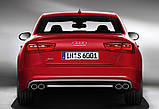Диффузор S6 заднего бампера Audi A6 (2012-2014), фото 2