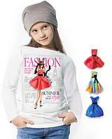 """Лонгслив и 3 сменных платья """"Fashion Magazine""""; 3, 4, 5, 6-7, 8-9, 10-11, 12-13 лет"""