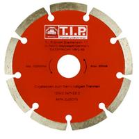 Круг отрезной по бетону алмазный T.I.P. 125 сегментный