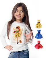 """Лонгслив и 3 сменных платья """"Fashion Walk""""; 3, 4, 5, 6-7, 8-9, 10-11, 12-13 лет, фото 1"""
