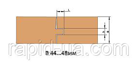 Фрезы для изготовления доски пола               В=44…48    140х40хВ=50х4