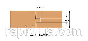 Фрезы для изготовления доски пола               В=40…44      160х40х В=40…44 х 4+4