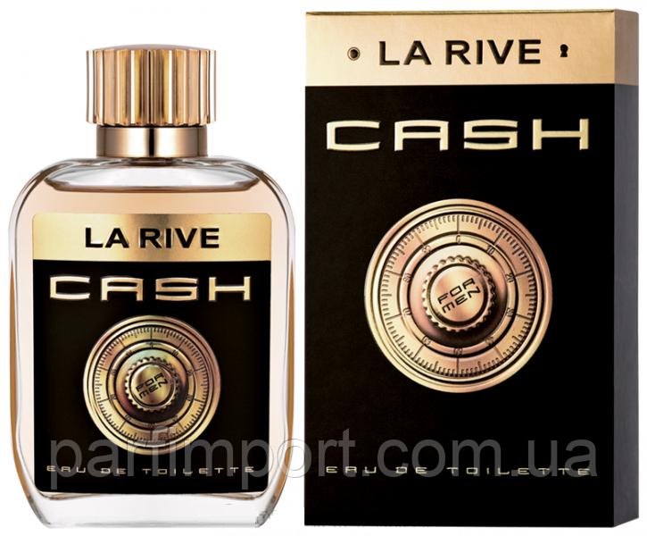LA RIVE Cash EDT 100 ml туалетная вода мужская (оригинал подлинник  Польша)