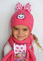 Комплект Шапочка детская Мари + шарф  р.48-50,  50-54 (сезон: зима) розница 315 грн опт от 210 грн
