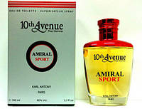 "Вода туал. ""Karl Antony"" 10 Avenue Amiral Sport 100ml M"
