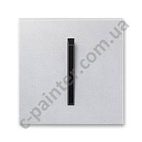 Центральная панель выключателя одинарная ABB Neo Титан/Оникс 3559M-A00651 72