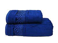 Полотенце бамбуковое 50х90 Mariposa Aqua синий