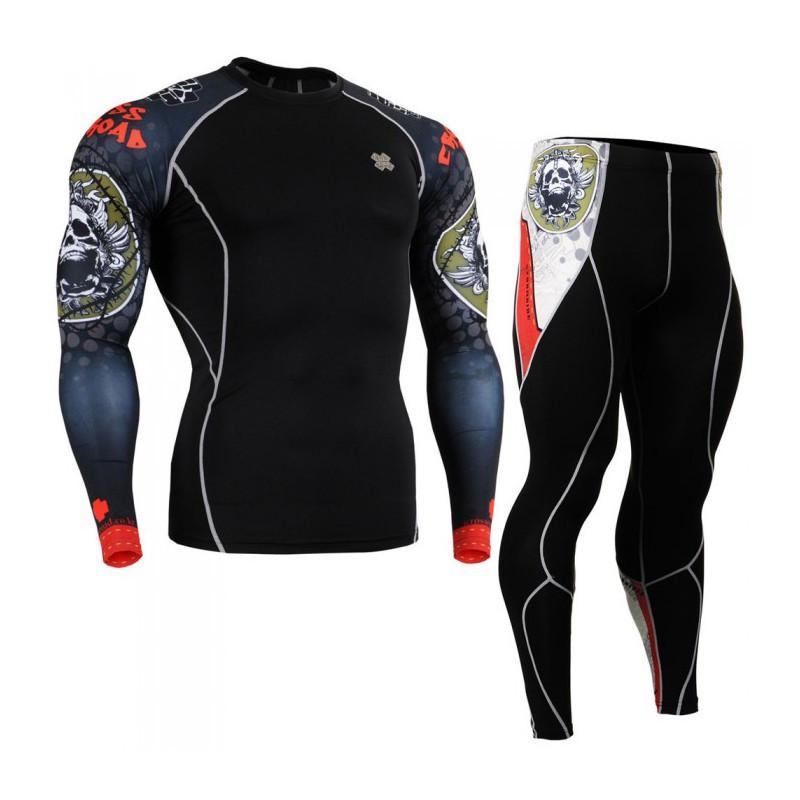 Комплект Рашгард Fixgear и компрессионные штаны CPD-B5+P2L-B5
