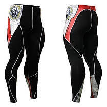 Комплект Рашгард Fixgear и компрессионные штаны CPD-B5+P2L-B5, фото 2