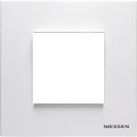 Рамка 1 пост 2 модуля ABB ZENIT Белый N2171.1 BL