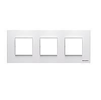 Рамка 3 поста ABB ZENIT Белый N2273 BL
