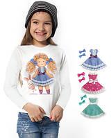"""Лонгслив и 2 сменных платья """"Doll Suzy""""; 3, 4, 5, 6-7, 8-9, 10-11, 12-13 лет"""