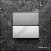 Рамка 1 пост 2 модуля Камень Сланец  ABB ZENIT N2271 PZ