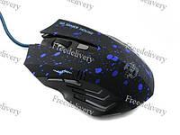 USB игровая мышь мышка 6D Gamer Mouse, синяя