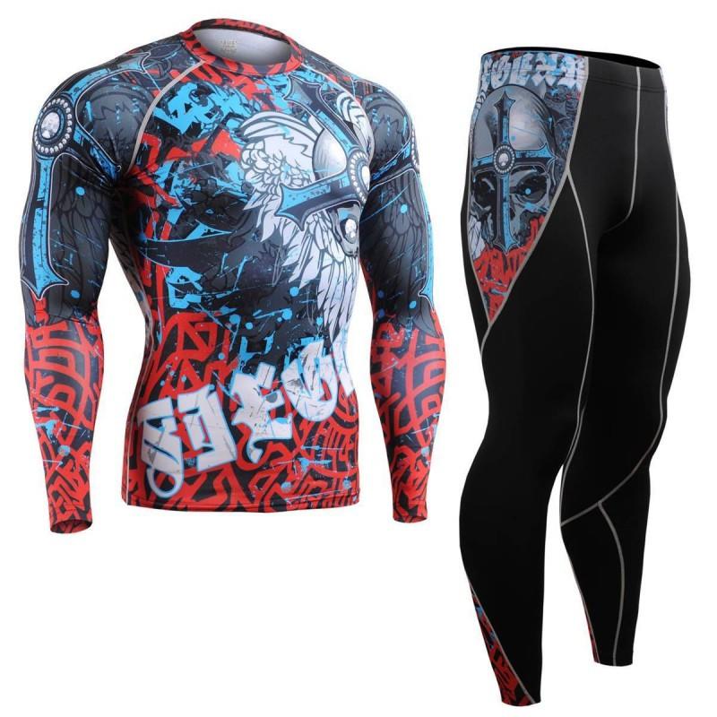 Комплект Рашгард Fixgear и компрессионные штаны CFL-B73+P2L-B73