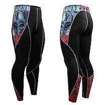 Комплект Рашгард Fixgear и компрессионные штаны CFL-B73+P2L-B73, фото 2