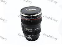 Чашка термос объектив Canon 24-105mm кружка крышка