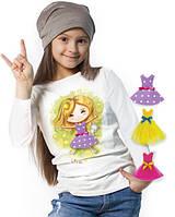 """Лонгслив и 3 сменных платья """"Top Fairy""""; 3, 4, 5, 6-7, 8-9, 10-11, 12-13 лет"""