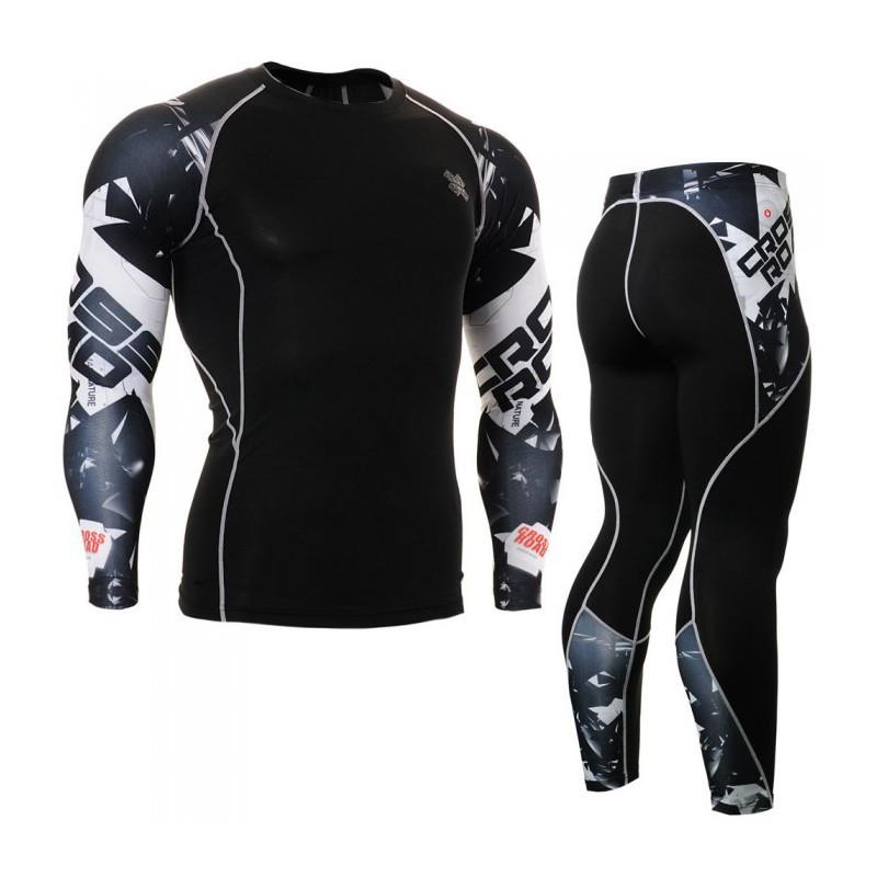 Комплект Рашгард Fixgear и компрессионные штаны CPD-B17+P2L-B17 Оригинал