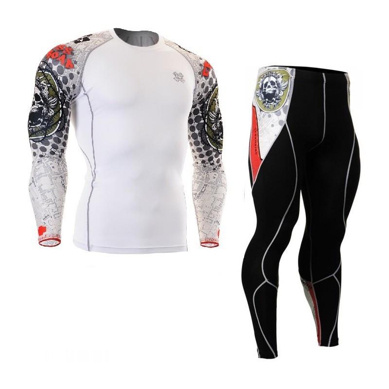 Комплект Рашгард Fixgear и компрессионные штаны CPD-W5+P2L-B5