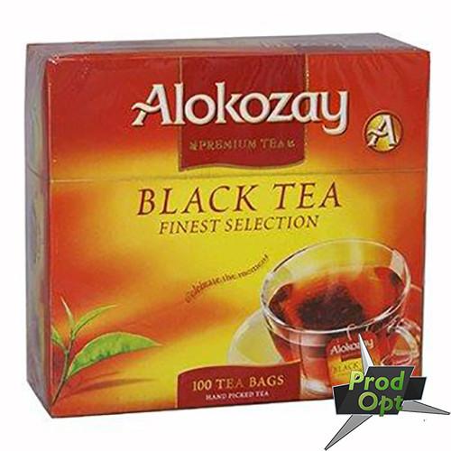 Чай Alokozay чорний, 100пакетів