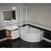 Угловая акриловая ванна левосторонняя RAVAK (РАВАК) ROSA I 160x105 CM01000000