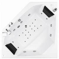 Угловая гидромассажная ванна, акрил 150x150 см Am Pm (Ам Пм) Awe W15W-150-150W1F