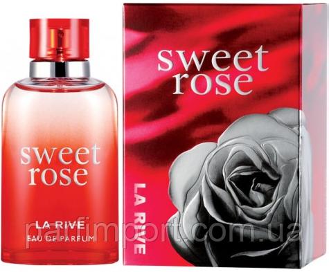 LA RIVE Sweet Rose EDP 90 ml  парфумированная вода женская (оригинал подлинник  Польша)