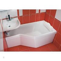 Акриловая ванна левосторонняя RAVAK (РАВАК) BE HAPPY 160x75 - C131000000