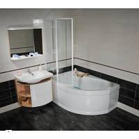 Угловая акриловая ванна левая RAVAK (РАВАК) ROSA I 140x105 - CI01000000