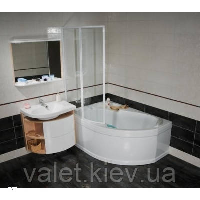 Угловая акриловая ванна левая RAVAK (РАВАК) ROSA I 140x105 - CI01000000 - Capital Painter в Киеве