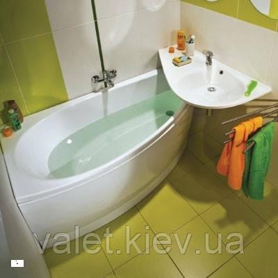 Угловая акриловая ванна RAVAK (РАВАК) AVOCADO 160x75 L-CQ01000000 - Capital Painter в Киеве