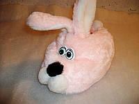 """Тапочки закрытые """"Заяц розовый""""."""