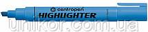 "Маркер текстовий 1-4.6 мм., корпус цілий, ""Highlighter"", синій. CENTROPEN"
