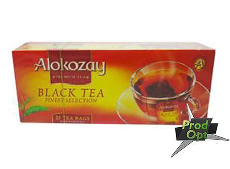 Чай Alokozay чорний, 25пакетів, фото 2