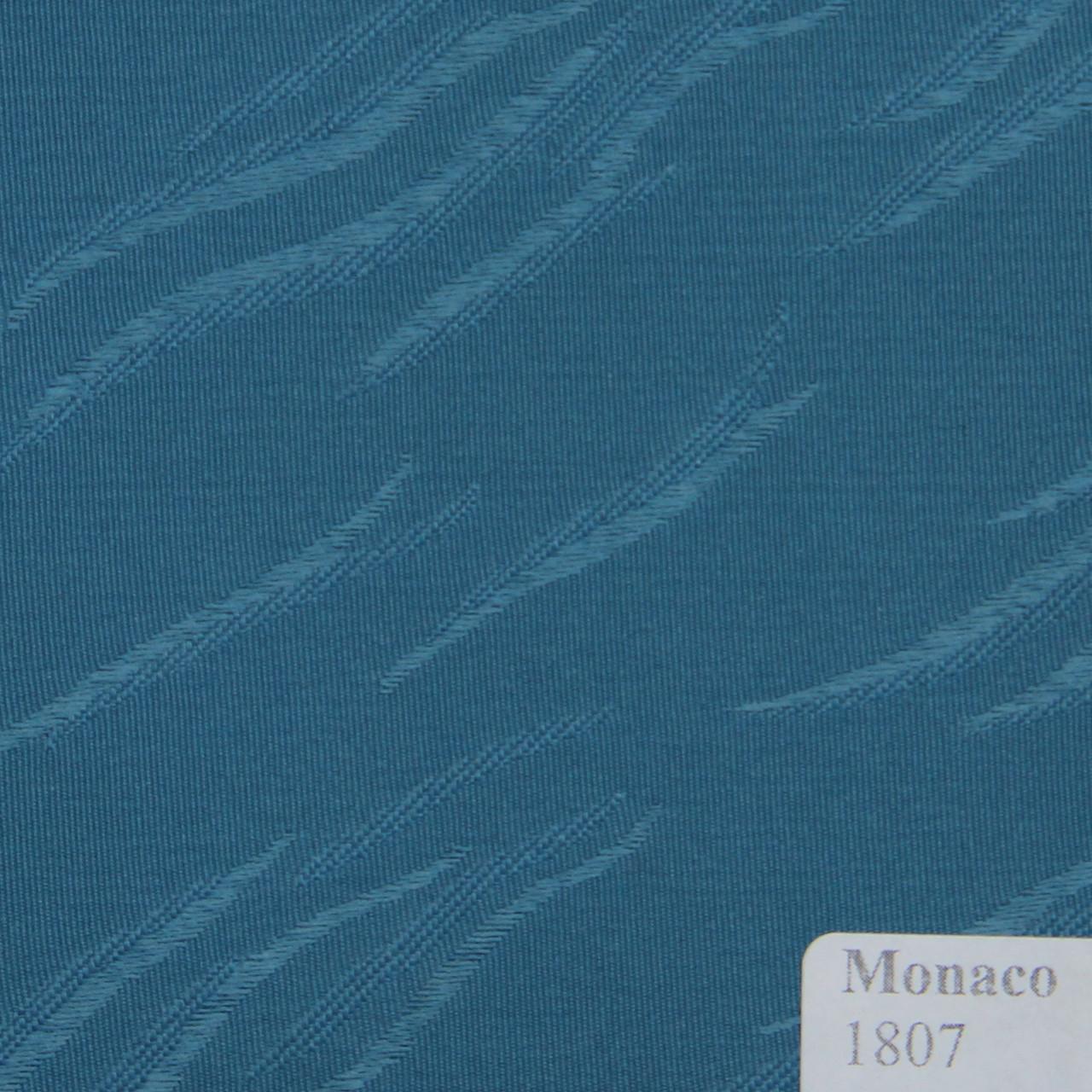 Рулонные шторы Ткань Монако Синий 1807