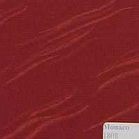 Рулонные шторы Одесса Ткань Монако Бордо 1808