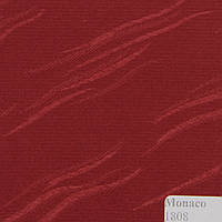 Рулонные шторы Ткань Монако Бордо 1808