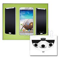 Anti Spy Защитное стекло для экрана Samsung Galaxy S4 (i9500) анти-шпион (с фильтром конфиденциальности)