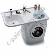 Умывальник на стиральную машину правый 116 см RAVAK (РАВАК) Praktik W XJ7P1100000