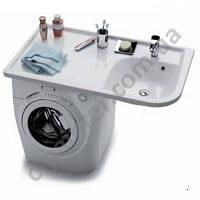 Умывальник на стиральную машину левый 116 см RAVAK (РАВАК) Praktik W  XJ7L1100000
