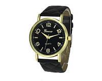 Женские часы черного цвета Geneva (192)