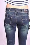 Женские джинсы на байке  (код EL 098) 25-30 размеры, фото 5