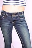 Женские джинсы на байке  (код EL 098) 25-30 размеры, фото 6