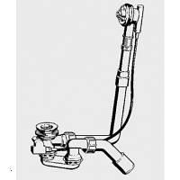 Сифон для ванны слив-перелив Viega (Виега) Multiplex 308889