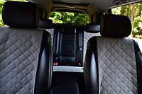 Накидки на автомобильные сиденья AVторитет (полный комплект, СТАНДАРТ, серые). Авточехлы